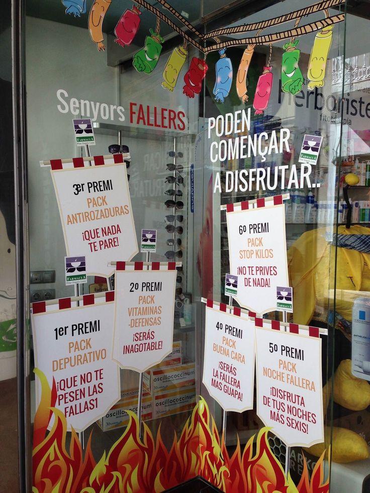 Escaparate Fallas #Valencia