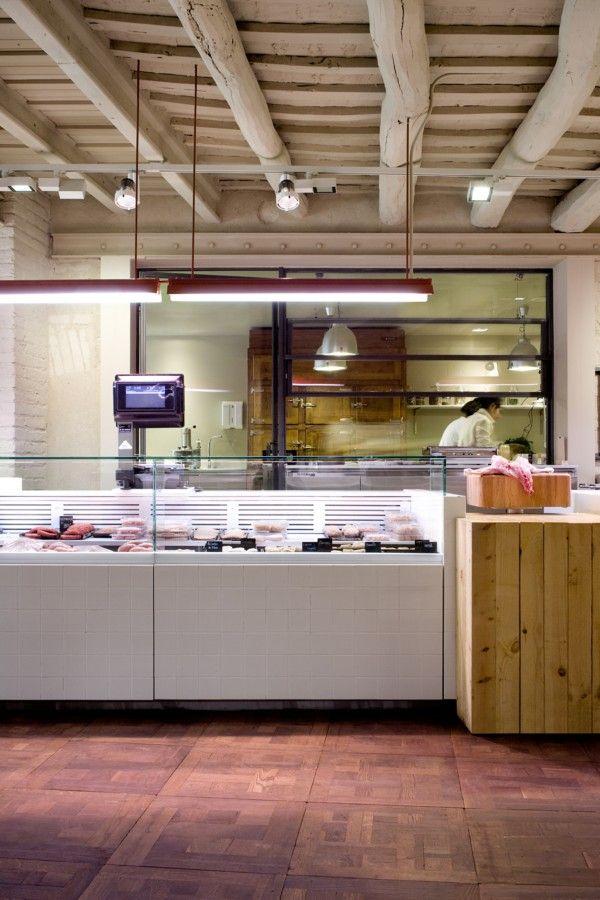 Sandra Tarruella studio creates an unusual boutique butchers shop for Corella.