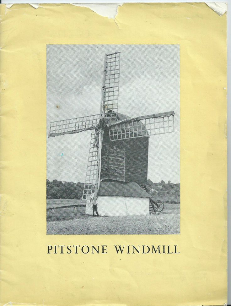 PITSTONE WINDMILL. BUCKINGHAMSHIRE. DAVID WRAY. softback c1970