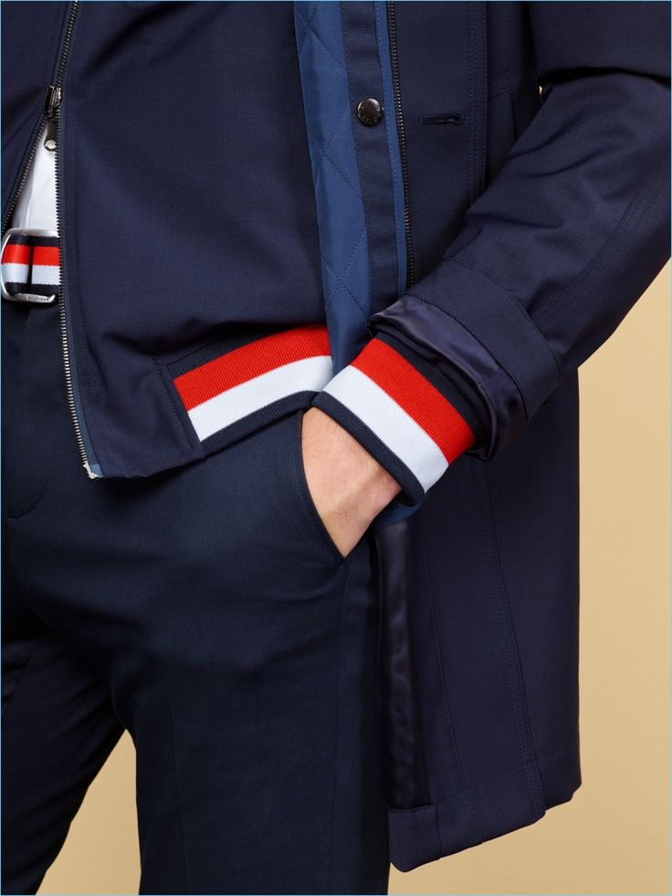 "Tommy Hilfiger Tailored unveils its spring-summer 2018 collection. The season captures a sense of ""speed and immediacy"" thanks to timeless inspirations. He"