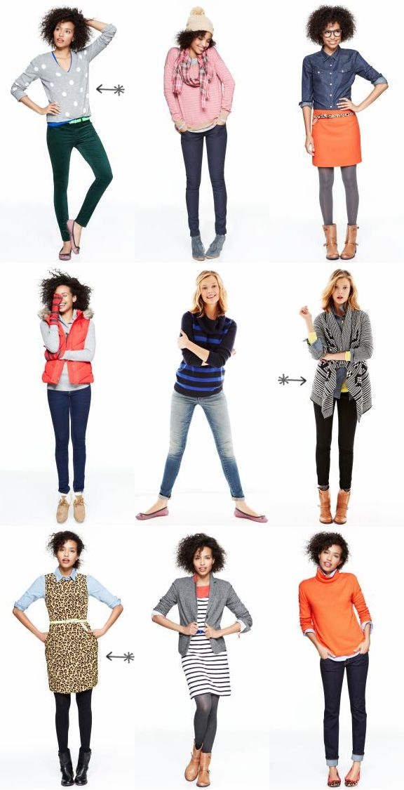 Über Chic for Cheap: Inspiration: Gap We Heart Outfits