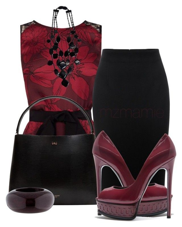 """""""Untitled #2798"""" by mzmamie on Polyvore featuring Coast, Alexander McQueen, Monies, Ted Baker, Casadei and Marc Jacobs"""