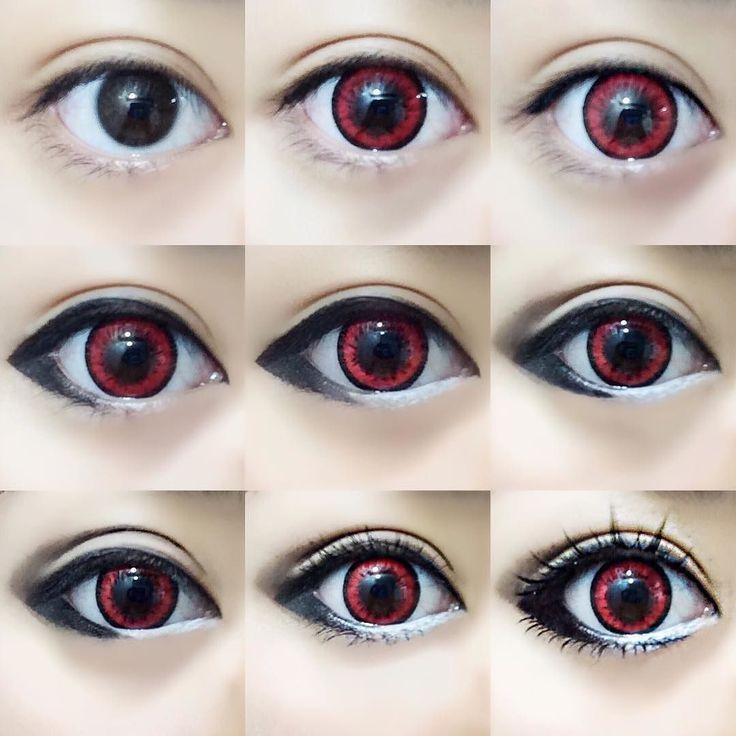 Ein weiteres Augen-Makeup-Tutorial für Cosplay! Oder jeden Tag idc. Ich benutze