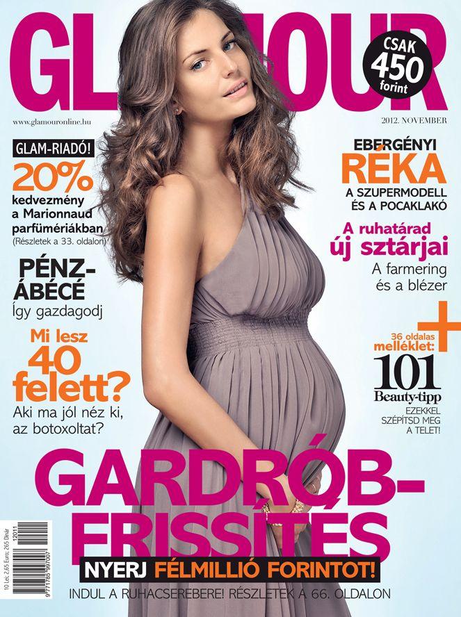 Réka Ebergényi, November 2012 issue, Photo by Márk Viszlay