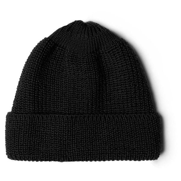 Hunting ensemble wool rib beanie black ( 49) ❤ liked on Polyvore featuring  men s fashion dfcaf6a7a68