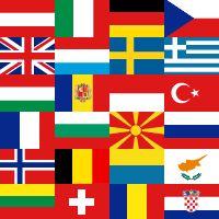 Hvor godt kender du Danmark og Europa? Geografispil med Danmarks regioner, byer, øer, farvande, europas lande, hovedstaeder, bjerge, floder, eu-lande, flag, have, havne, monarkier, vulkaner og mere.