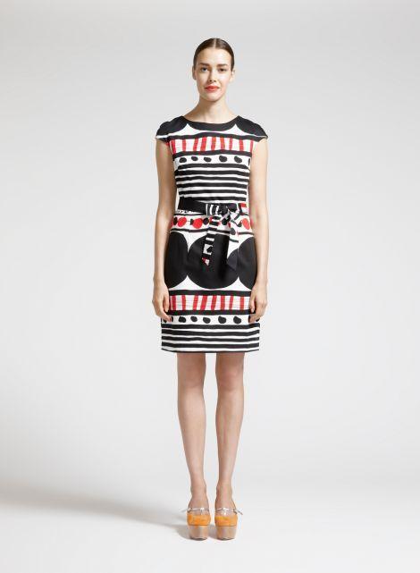 Pihka-mekko (valkoinen, musta, punainen) |Vaatteet, Naiset, Mekot ja hameet | Marimekko