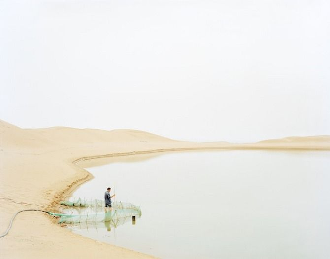 The Yellow River Surging Northward Rumblingly by Zhang Kechun.