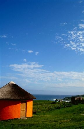 rent a mud hut in the Transkei BelAfrique - Your Personal Travel Planner www.belafrique.co.za
