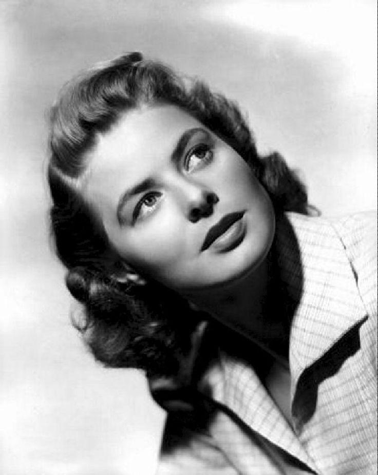 Ingrid Bergman. Classic beauty, and a fabulous actress. Love her.