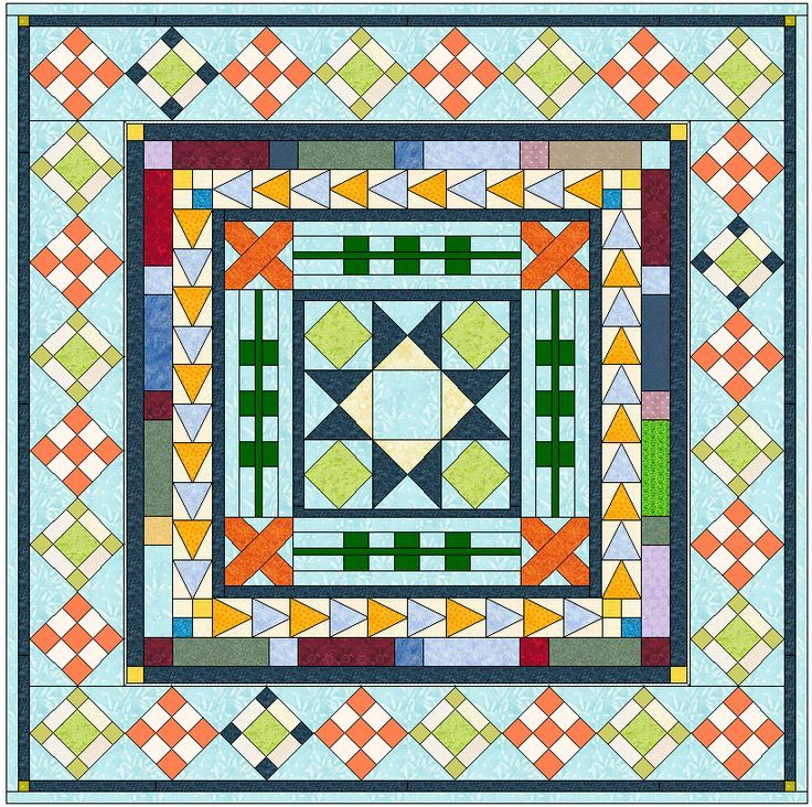 medallion quilt along busy body So excited for this to be starting!  Can't wait to get my fabrics together.