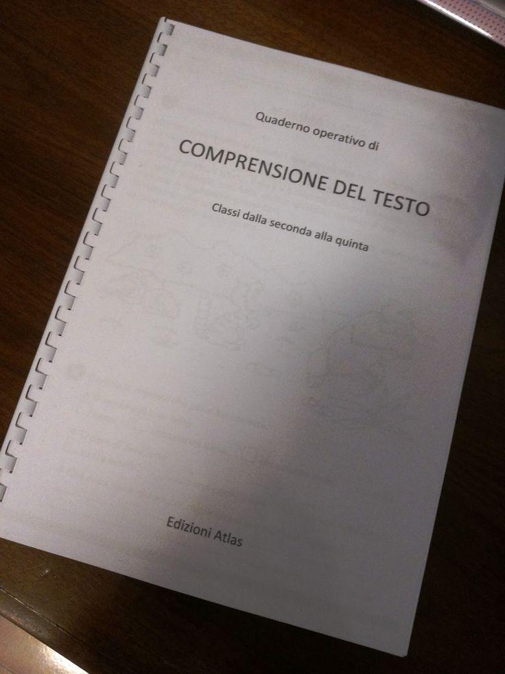 In questi giorni ero alla ricerca di materiale sulla comprensione del testo .   Di solito nei quaderni operativi di italiano se ne trova qua...