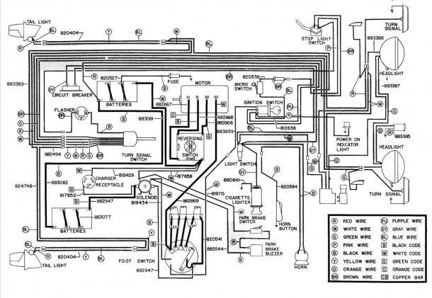 1993 Ezgo Wiring Diagram In 2020