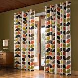 Orla Kiely - Multi Stem Eyelet Curtains - 117x137cm