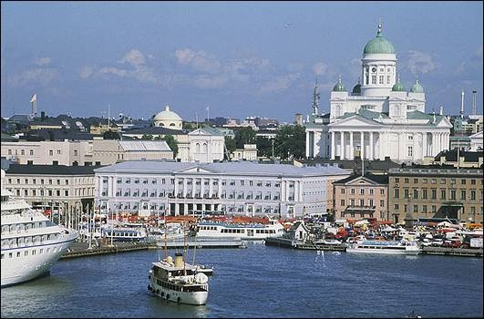 I'll be spending a few days in Helsinki before flying to Reykjavik.