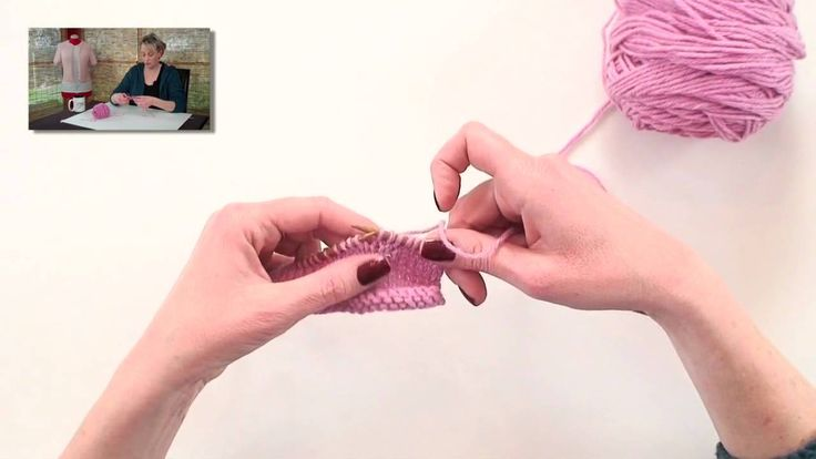 Make 1 is the most invisible increase in knitting. I show you how to work both a right- and left-leaning M1 stitch.