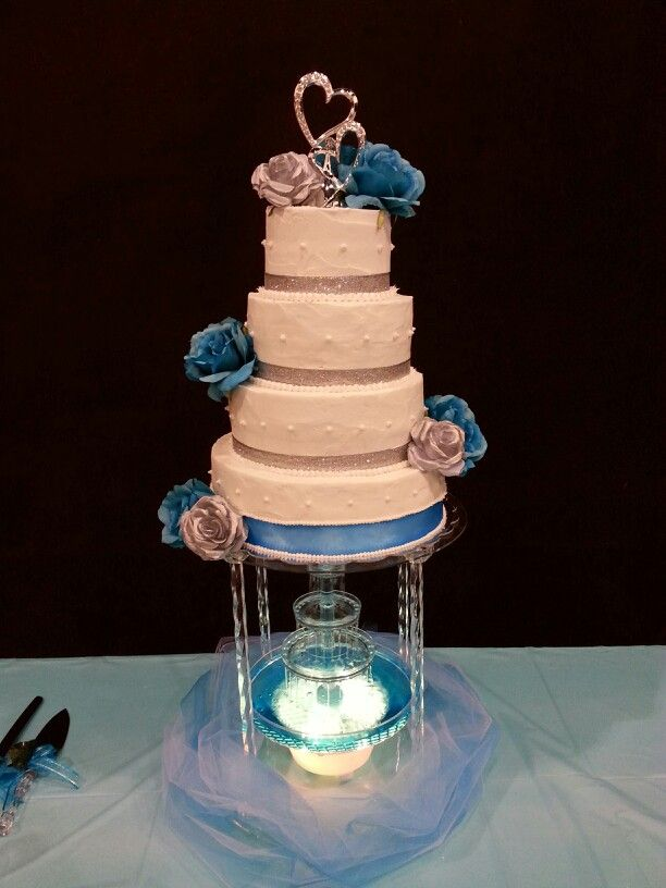water fountain wedding cake best 25 wedding cakes ideas on 21676