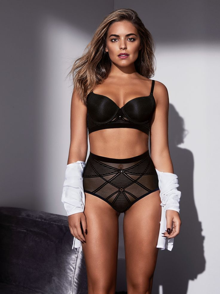 The daring Lingerie with Benefits campaign was shot by renowned fashion photographer Steven Chee, capturing the quintessential Aussie girl next door, Olympia Valance.