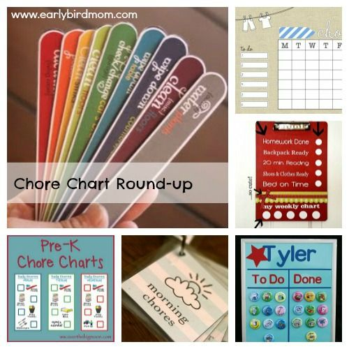 Best Kids Chore Charts Images On   Chore Ideas Kid