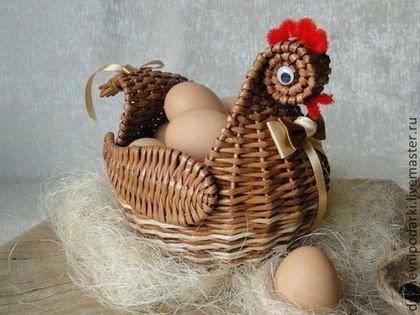 Подарки на Пасху ручной работы. Ярмарка Мастеров - ручная работа Пасхальная курочка. Handmade.