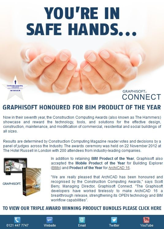 You're in safe hands with ArchiCAD.