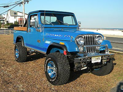 1983 Jeep Scrambler CJ-8 Custom v 360 American Motors newly Professionally rebuilt ( under 100 miles) v Modified 40 over with racing cam. According to build Approx 400hp v Edelbrock 600 CFM 4 barrel c | Search-Vehicles.com