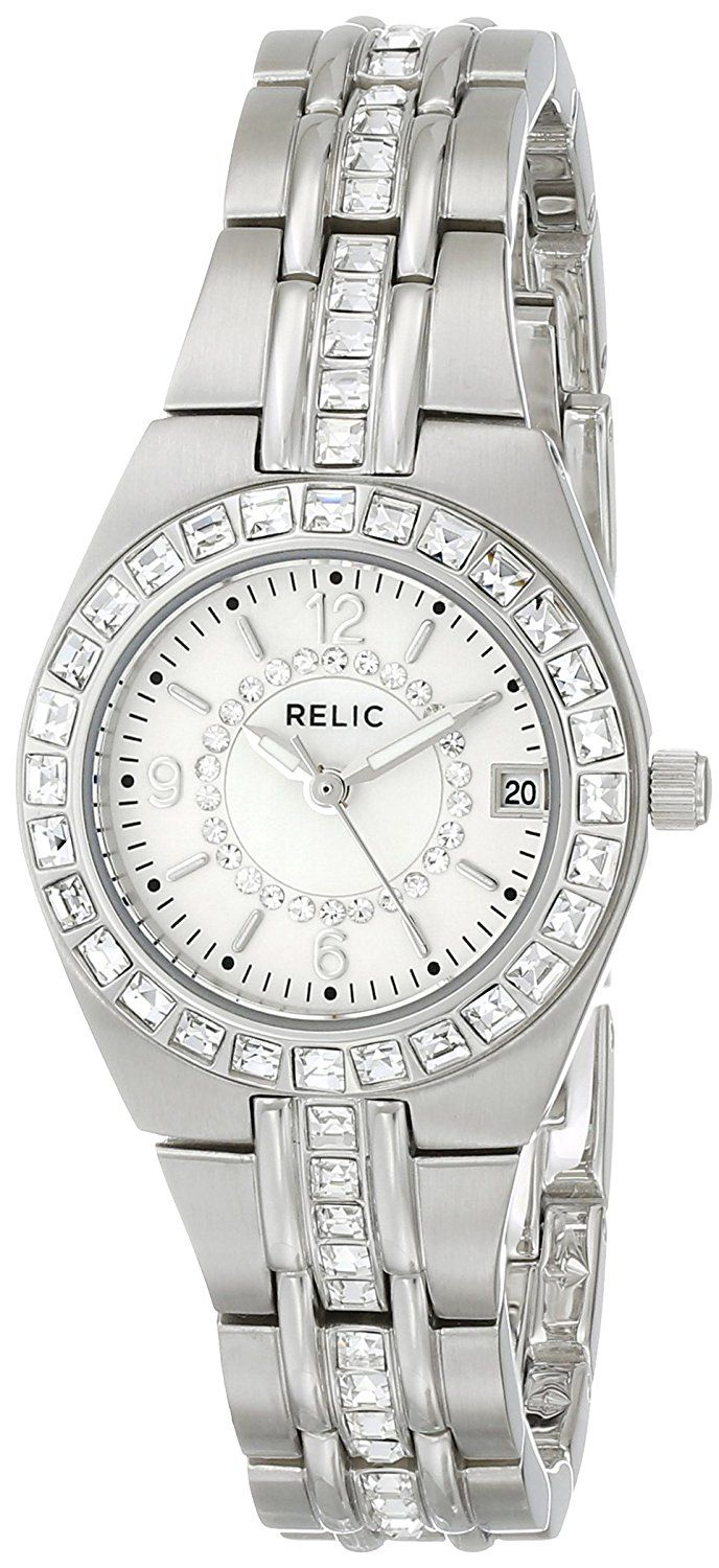 Relic Queen's Court Stainless Steel Watch * Be sure to check out this awesome watch.