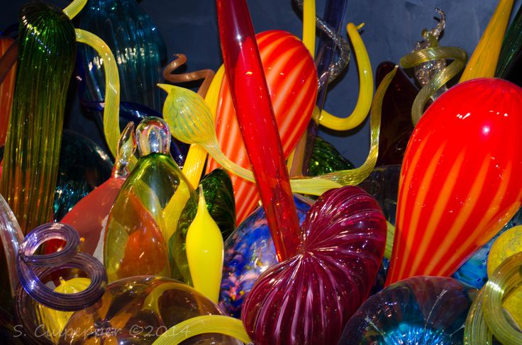 Chihuly glass at Columbus Museum