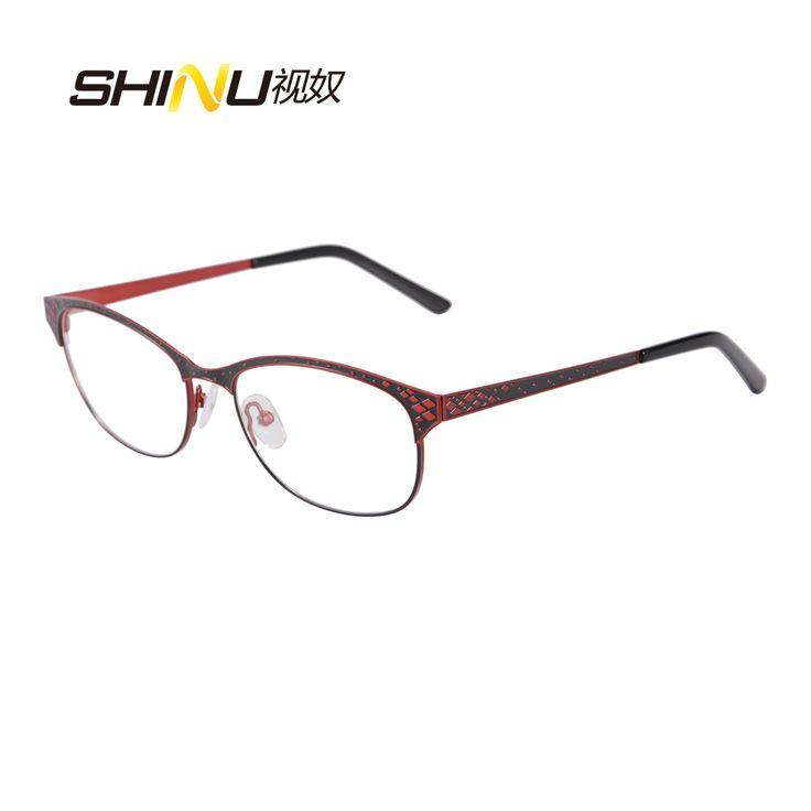 >> Click to Buy << New Brand Designer Double Color Plating Stainless Steel Glasses Women Gafas Retro Vintage Eyeglasses Myopia Optical Frame SR8003 #Affiliate