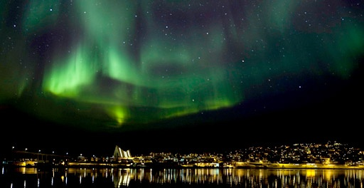 The arctic city of Tromso in Norway exists in a state of complete darkness for weeks every winter.