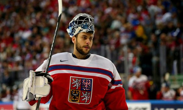 Ondrej Pavelec Photos - Latvia v Czech Republic - 2015 IIHF Ice Hockey World Championship - Zimbio