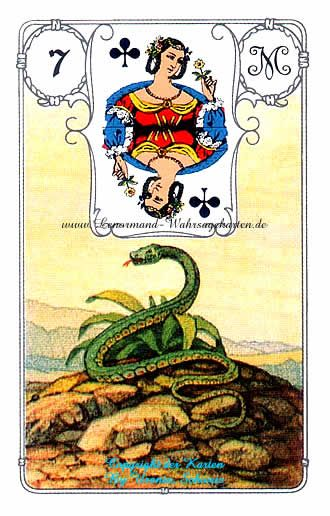 Madame Lenormand Blue Owl Cards Kartenlegen online Kostenlos ohne anmeldung >>> www.onlinetarotkartenlegen.de/