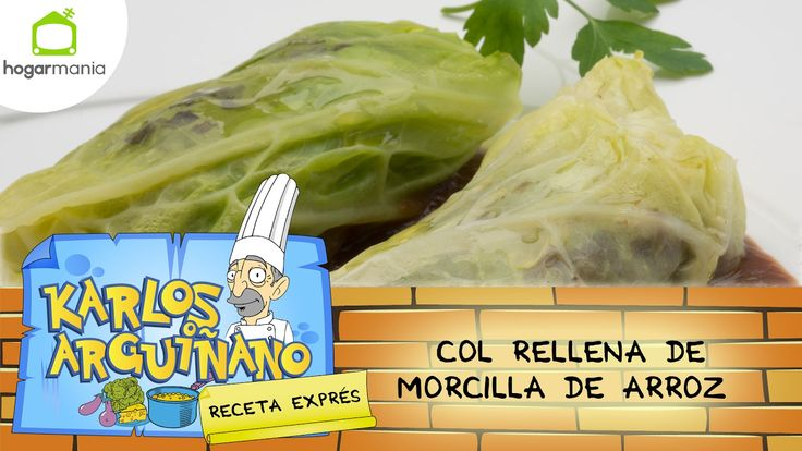 Receta de Col rellena de morcilla de arroz de Karlos Arguiñano