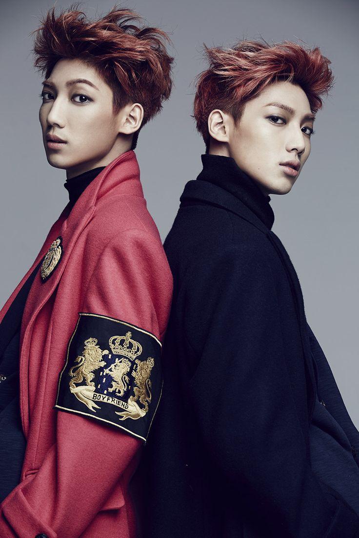 Kwang Min and Young Min | Boyfriend