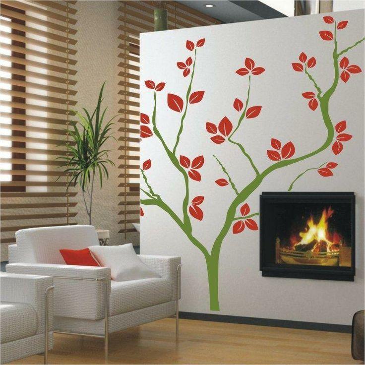 Naklejka wielokolorowa - Drzewo   Multicolor decorative sticker - Tree   43,30 PLN #wall_decal #sticker #tree #pattern #home_decor #interior_decor