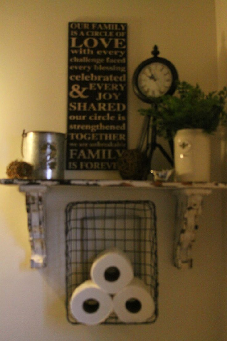 Pics On My bathroom decor Shabby chic decor Pinterest Bath House and Decorating