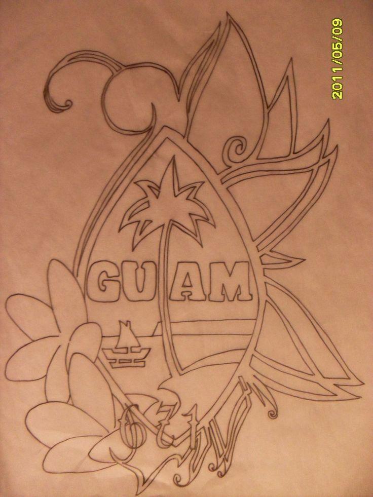 Guam Seal Design by DaViNa018.deviantart.com on @deviantART