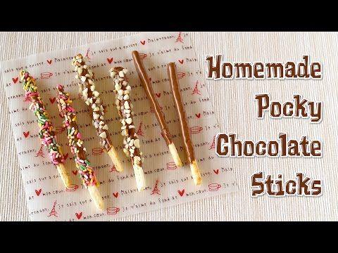 Homemade Pocky Chocolate Sticks