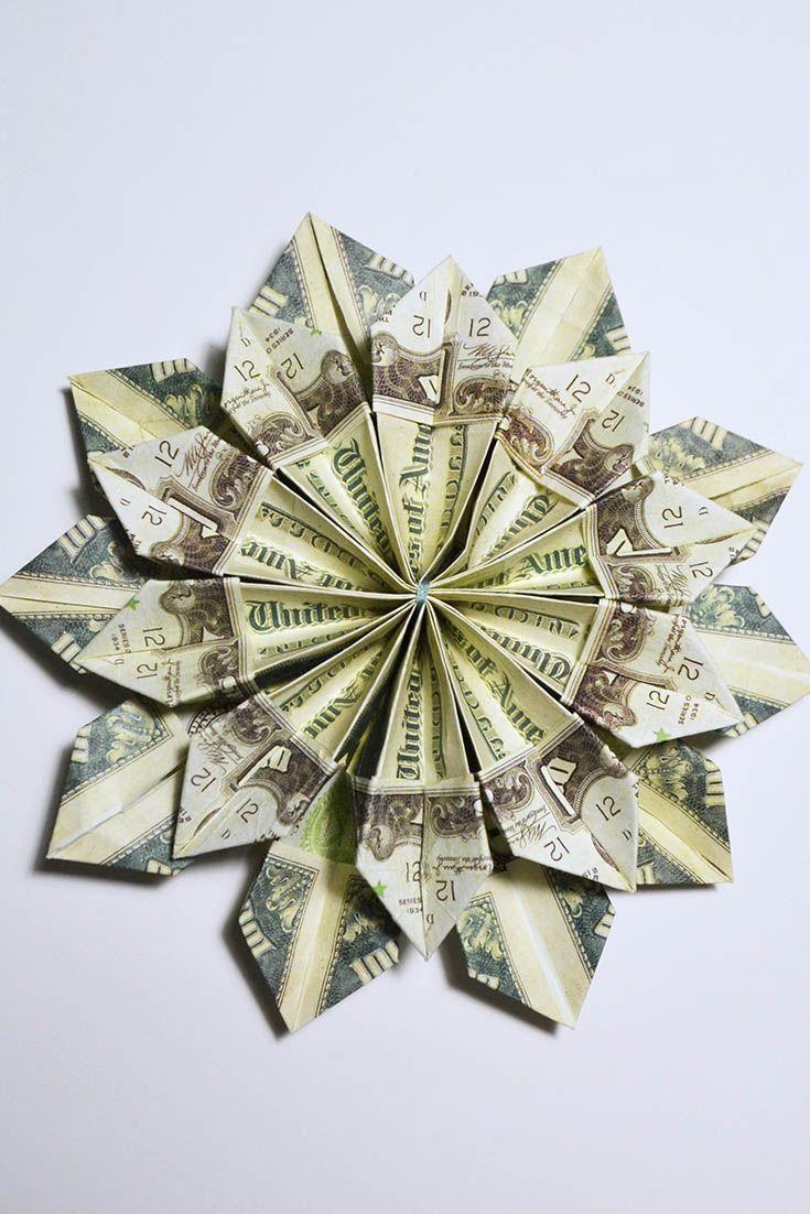 Dollar Bill Origami - Make-Origami.com | 1102x735