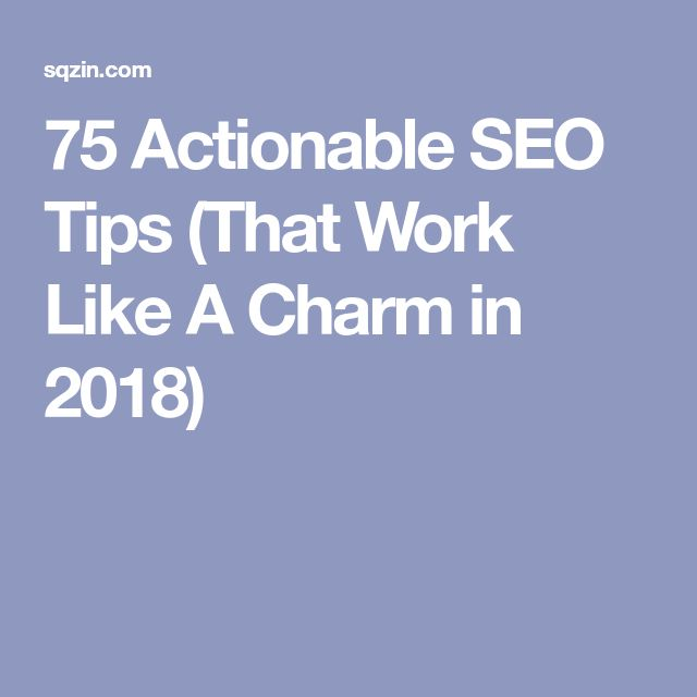 13 best start your blog images on pinterest affiliate marketing 75 actionable seo tips that work like a charm in 2018 malvernweather Gallery