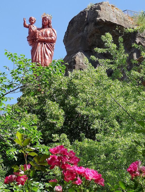 Le Puy-en-Velay, France. The Way of St.James ( Via Podiensis ).