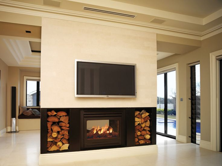 "Über 1.000 ideen zu ""double sided gas fireplace auf pinterest ..."