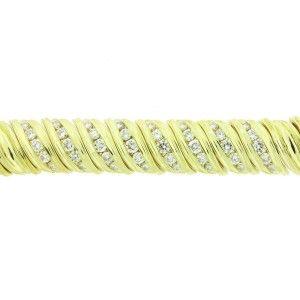Jose Hess 18K Yellow Gold with 3ct Diamond Bracelet #yellowgold #18k #diamondbracelet diamond bracelet tennis | diamond bracelet simple | diamond bracelet indian | diamond bracelet bangle | diamond bracelet design | fine jewelry | fine jewelry necklace | fine jewelry rings | fine jewelry designers | fine jewelry br | Diamond Bracelet for women | Diamond bracelet for women | DIAMOND BRACELET❤️ | Diamond Bracelets |
