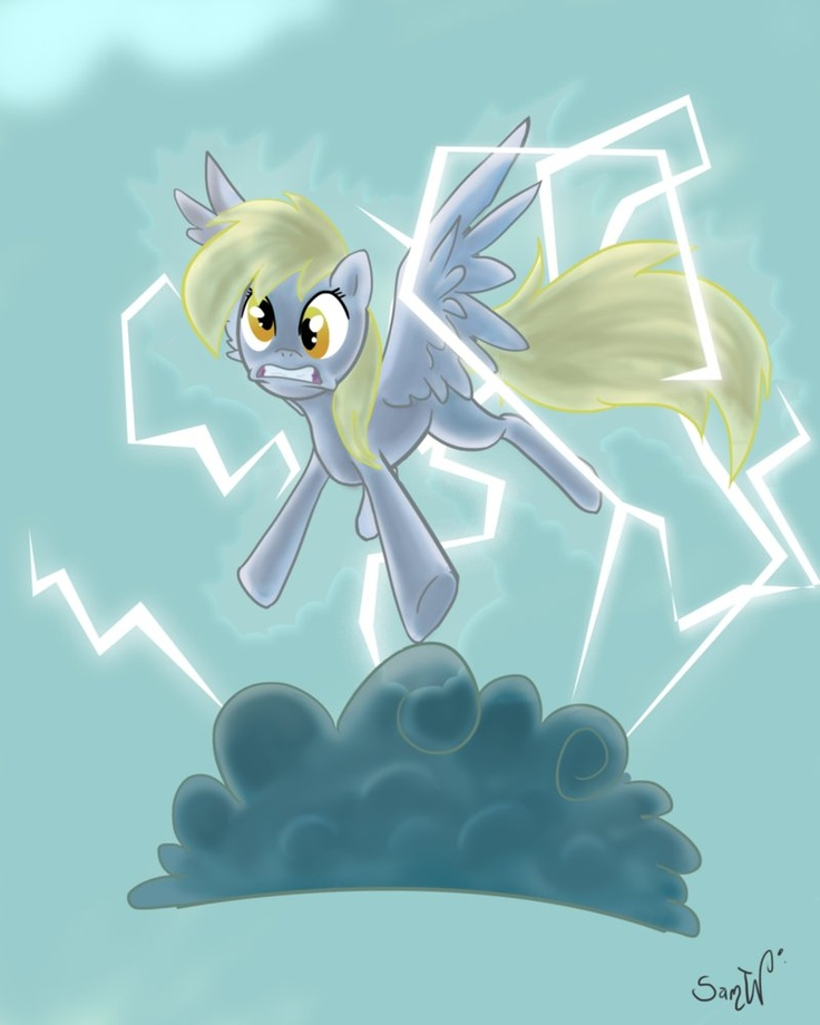Derpy Doesnt Know What Went Wrong