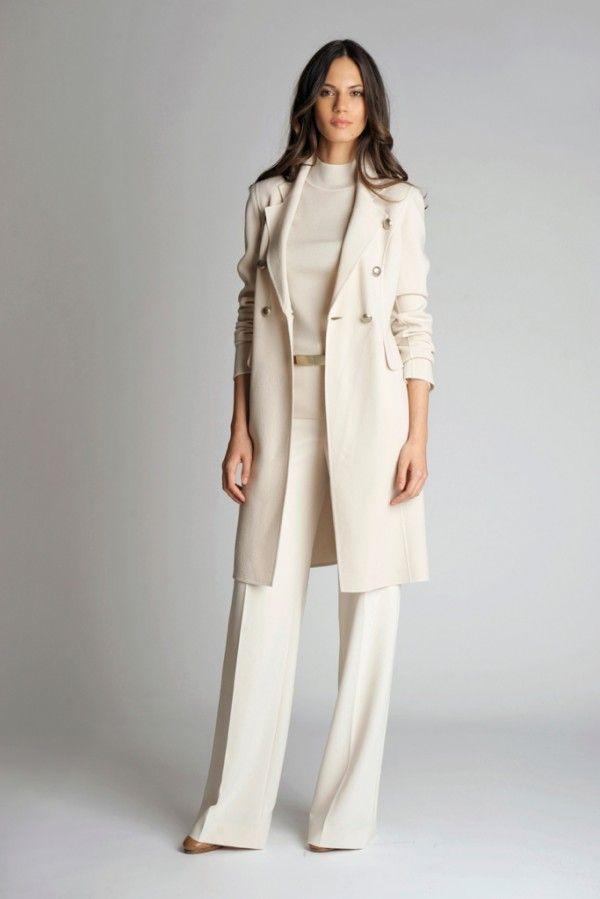 St. Johns Women's Pant Suit - off white