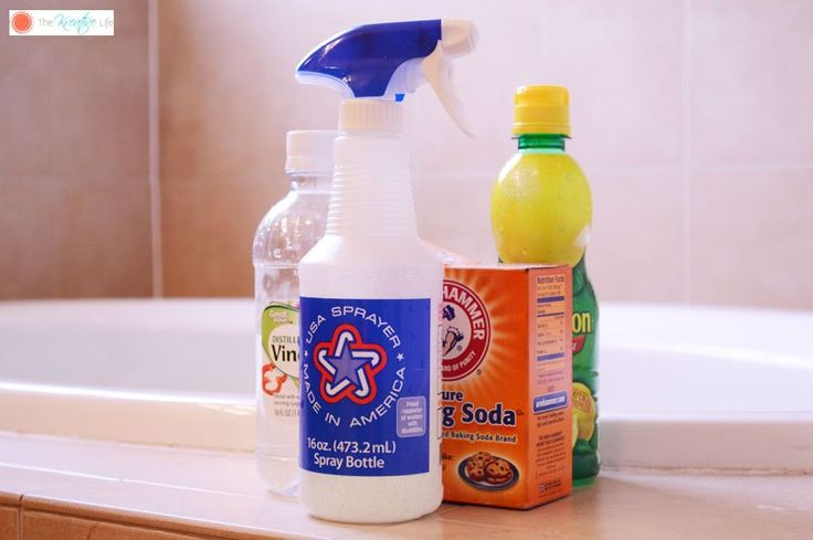 Mix up Your Own Natural Tile Grout Cleaner 1C. water, 1/2 C. white vinegar, 1/4 C. lemon juice & 2 Tblsp. baking soda. Let sit 2 min. then scrub with an old toothbrush.