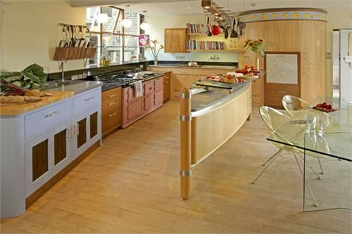 Light Contemporary Kitchen by Johnny Grey on HomePortfolio