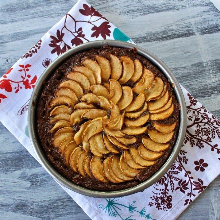 Deliciosa tarta de avena, manzana y canela SIN AZÚCAR | la vida es un cuenquito de instantes.