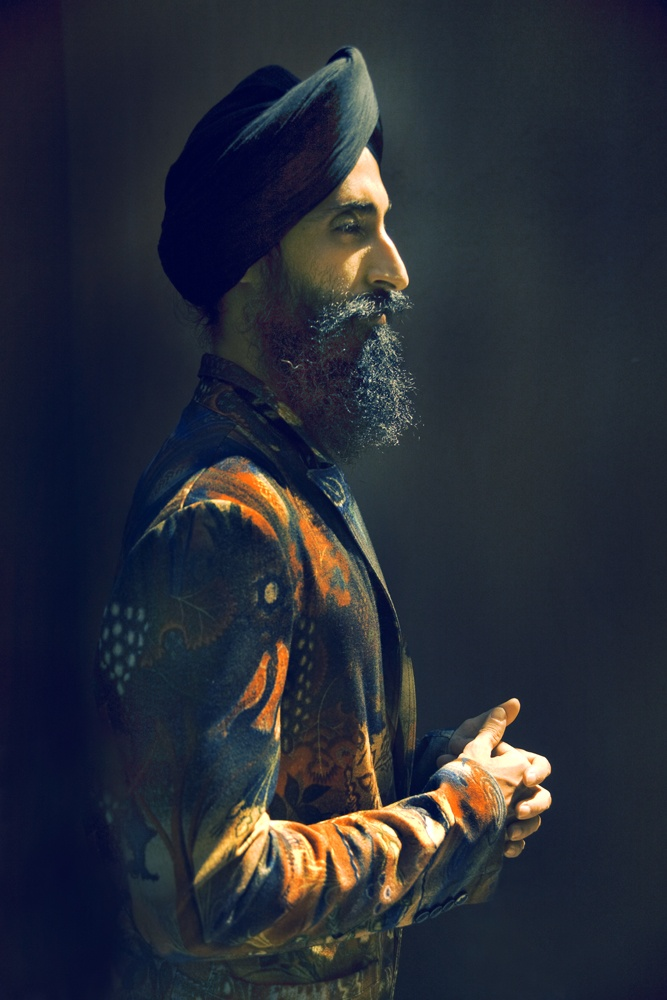 Portraits: Waris Ahluwalia [img src: Erik Madigan Heck - maisondesprit.com]