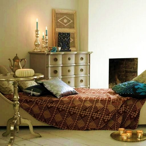 Moroccan/ Indian Inspired Bedroom